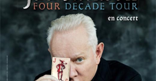 """Joe Jackson """"Four Decade Tour"""" - présenté par Artefact Prl en accord avec Gérard Drouot Productions, © © Veranstalter"""
