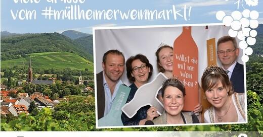137. Müllheimer Weinmarkt - Gastregion Elsaß, © © Veranstalter