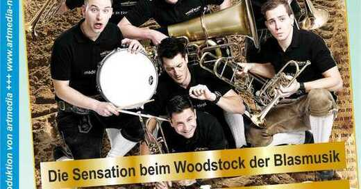 VIERA BLECH – Blasmusik Sensation aus Tirol - support act: nnb, © © Veranstalter