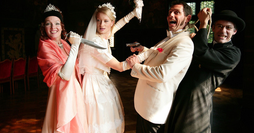 Das Original Krimidinner - Hochzeit in Schwarz, © © Veranstalter