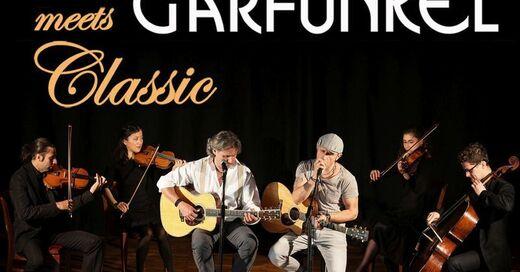 SIMON & GARFUNKEL Tribute meets CLASSIC - Duo GRACELAND mit Streichquartett und Band, © © Veranstalter