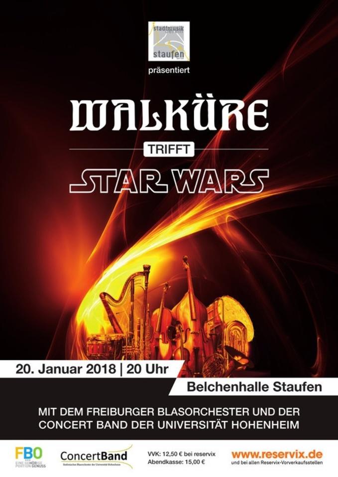 Walküre trifft Star Wars, Staufen, Belchenhalle, Konzert, © Veranstalter