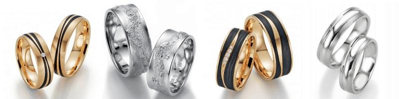 Eheringe und Trauringe von Juwelier Schillinger