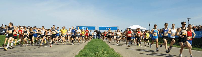 Bewerbung Freiburg Marathon 2018 Bands, © FWTM
