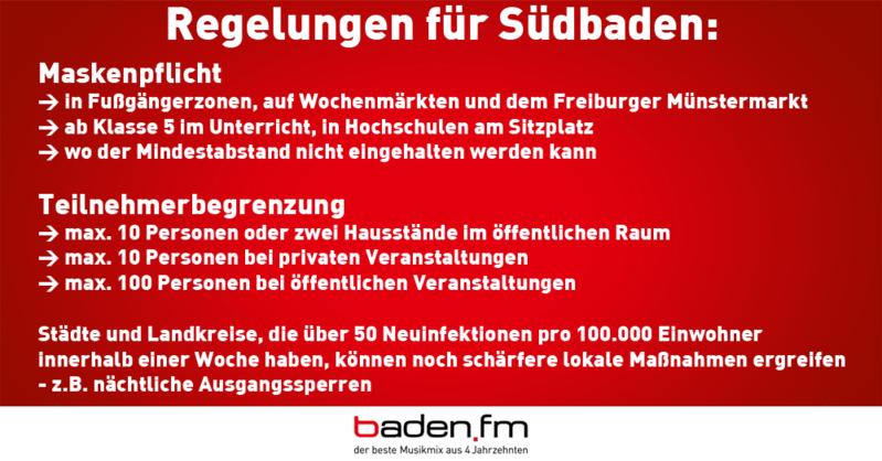 Regeln Baden Württemberg Corona