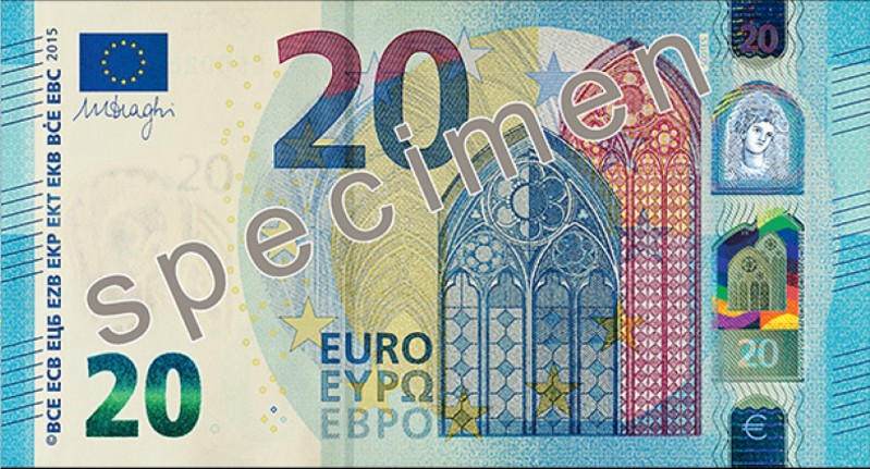 20 Euro Schein, © EUROPEAN CENTRAL BANK