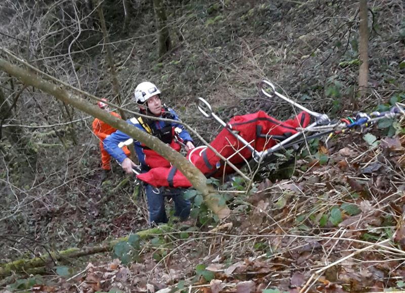 Bergwacht,Rettung, Bergung, wandern, Unfall, © Polizei