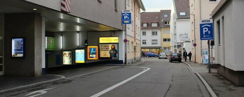 Schwarzwald City, Parkhaus, Tiefgarage, © ADAC Südbaden
