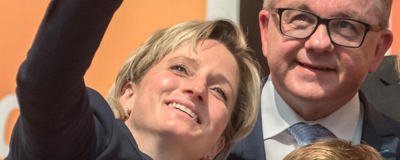 Nicole Hoffmeister-Kraut, Wirtschaftsministerin, © Daniel Maurer - dpa