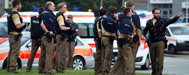 Polizei, Terroranschlag, München, © Matthias Balk - dpa