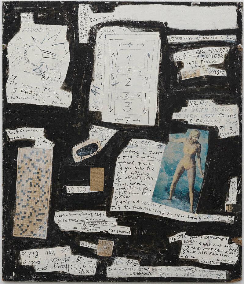 Arthur Kopcke, Neues Museum, Kreuzworträtsel,, © Neues Museum (Anette Kradisch)