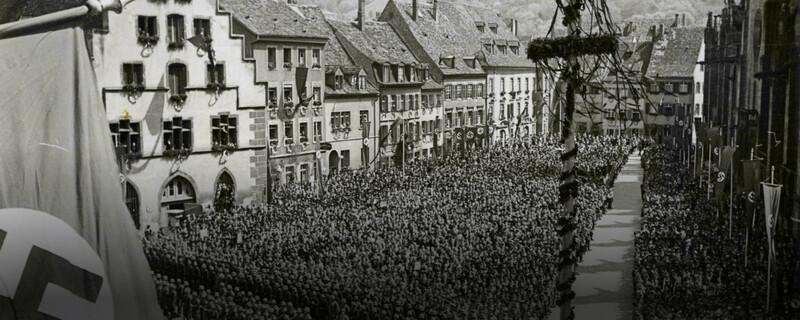 NSDAP, Nazi, Nationalsozialismus, Ausstellung, © Stadtarchiv Freiburg