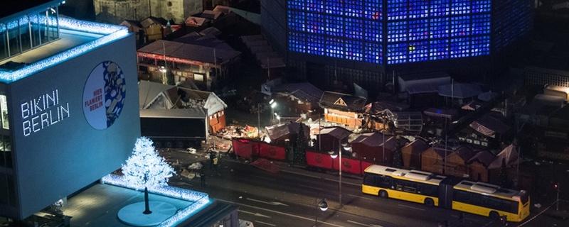 Terror, Anschlag, Gedächtniskirche, Berlin, © Bernd von Jutrczenka - dpa