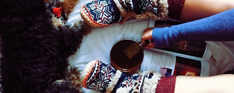 Socken, Wärme, Tee, © Pixabay