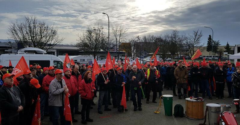 Warnstreik, IG Metall, Freiburg, Industrie, © baden.fm
