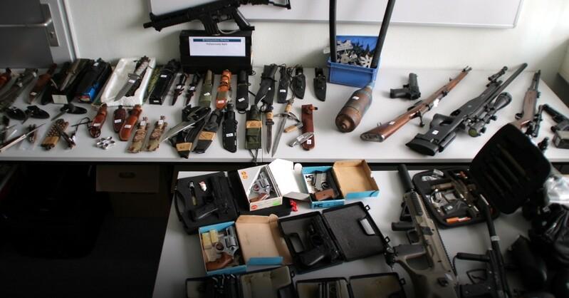 Waffen, Arsenal, Kehl, © Polizeipräsidium Offenburg