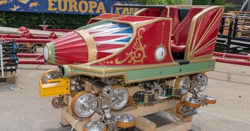 Europa-Park, Achterbahn, Silverstar, CanCan-Coaster, © Europa-Park