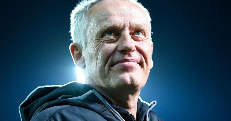 Christian Streich, Trainer, SC Freiburg, © Patrick Seeger - dpa