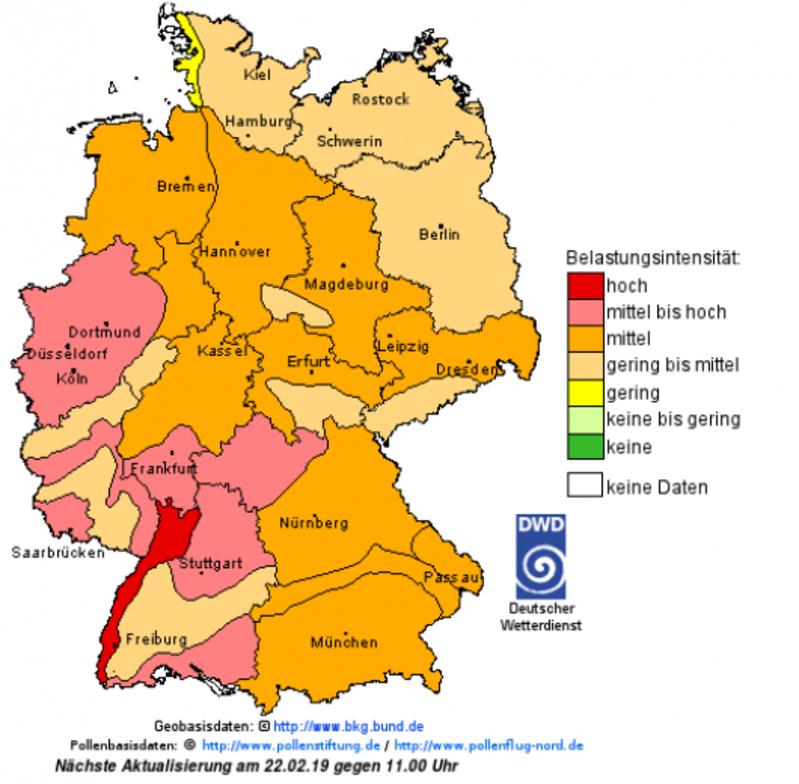 © Deutscher Wetterdienst