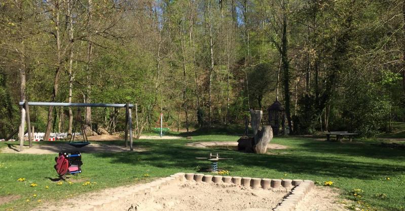 Waldspielplatz, Emmendingen, Kinder