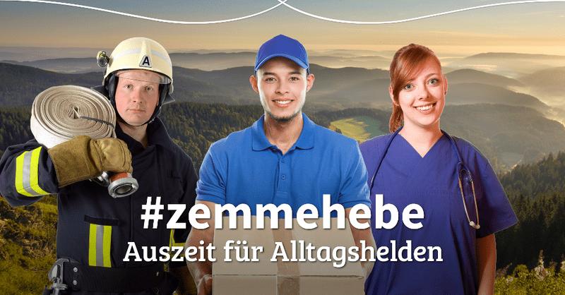 Zammehebe, Alltagshelden, Coronavirus, Auszeit, © Hochschwarzwald Tourismus GmbH