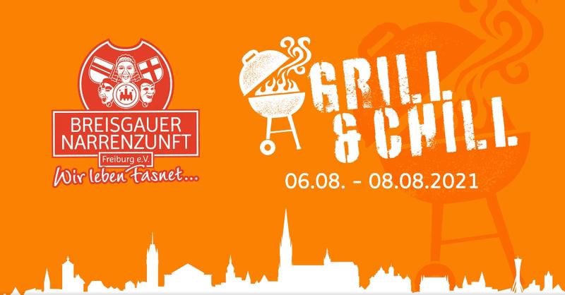 Breisgauer Narrenzunft, Grill and Chill, Grillparty, Freiburg, Fasnet, © Breisgauer Narrenzunft