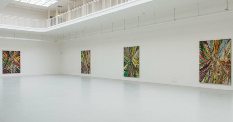 © Mark Grotjahn, Circus Circus, Installationsansicht Kunstverein Freiburg, 2014 Fotos: Marc Doradzillo