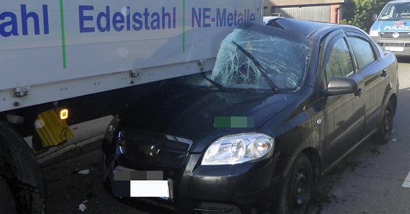 Unfall, Grafenhausen, © Polizei
