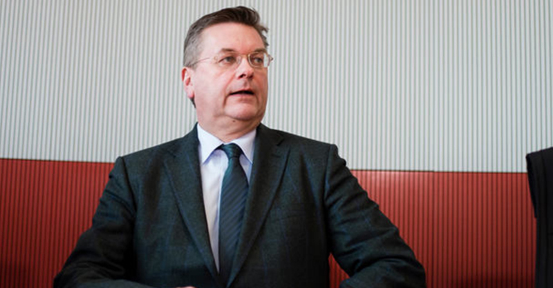 Reinhard Grindel, Schatzmeister, DFB, © Gregor Fischer - dpa