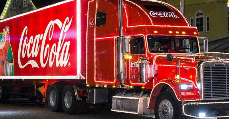 Coca-Cola, Weihnachtstruck, , © Coca-Cola