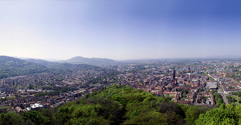 Freiburg,Panorama, Stadt, Green City, © fotolia.de-A.Z.