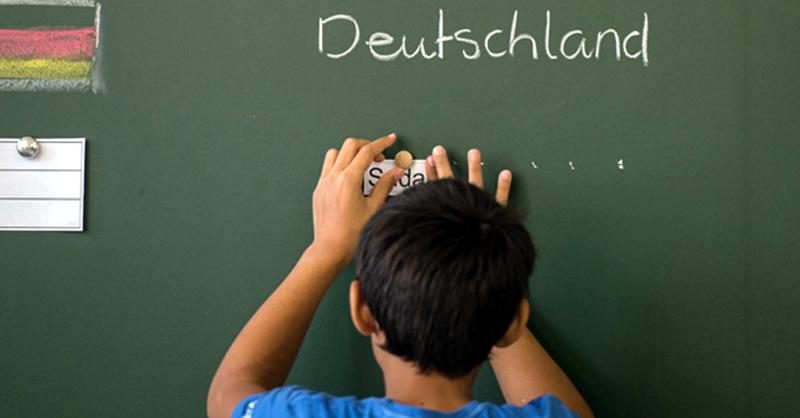 Flüchtling, Schule, Integration, © Wolfram Kastl - dpa