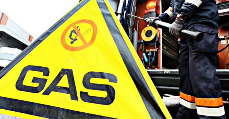 Feuerwehr, Gasleitung, © Feuerwehr Plettenberg / pil fdt - dpa