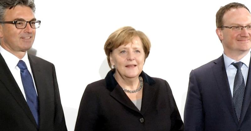 Bundeskanzlerin Merkel in Freiburg, © baden.fm