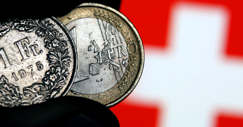 Euro, Franken, © Oliver Berg - dpa