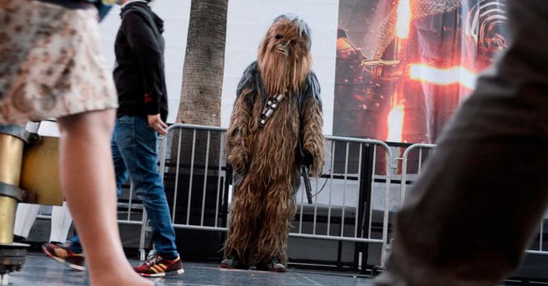 Chewbacca, Star Wars, Kino, © Paul Buck