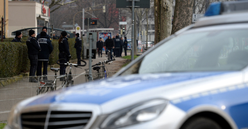 Polizei, Entschärfung, © Patrick Seeger - dpa