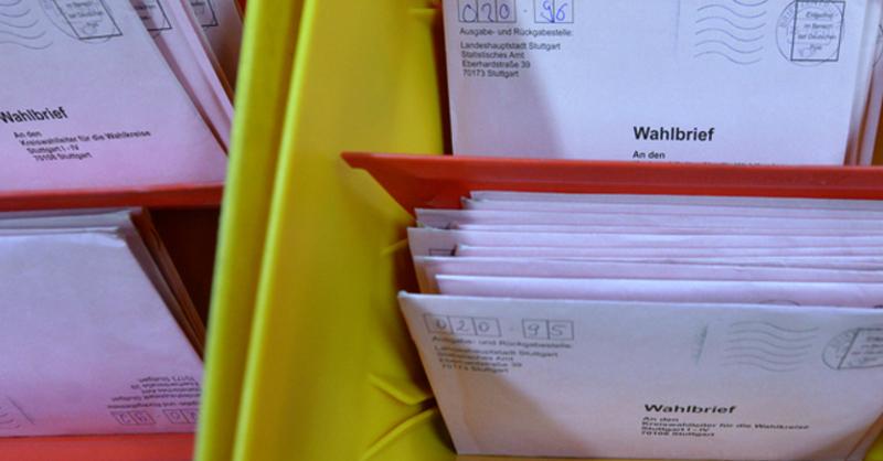 Briefwahl, Stimmzettel, © Franziska Kraufmann - dpa