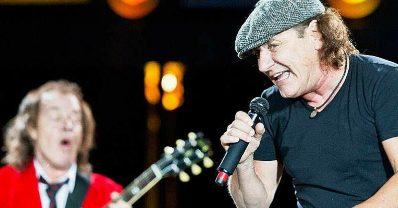 AC/DC, Brian Johnson, Angus Young, © picture alliance - dpa