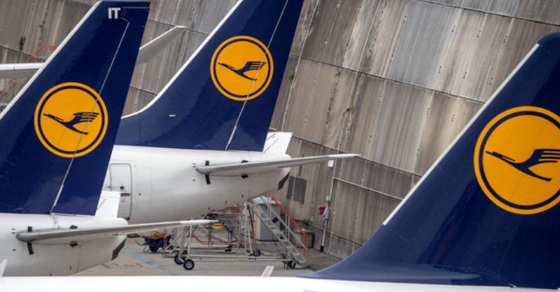 Lufthansa, Flugzeug, © Boris Roessler - dpa