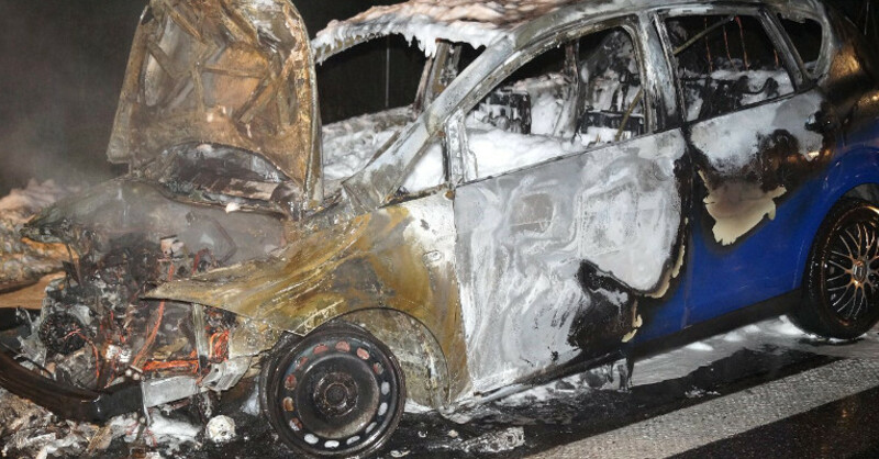 Unfall, A5, © Polizeipräsidium Freiburg