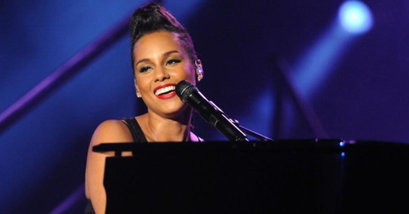 Alicia Keys, Klavier, © Abdelhak Senna - dpa