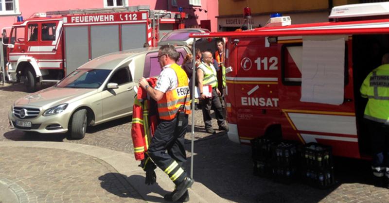 Feuerwehr, Lagezentrum, Bad Säckingen, © FRM - dpa