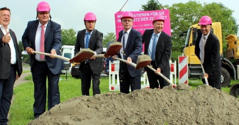 Spatenstich, Breitband, Ausbau, © Ullrich Spitzmüller - Landratsamt Emmendingen