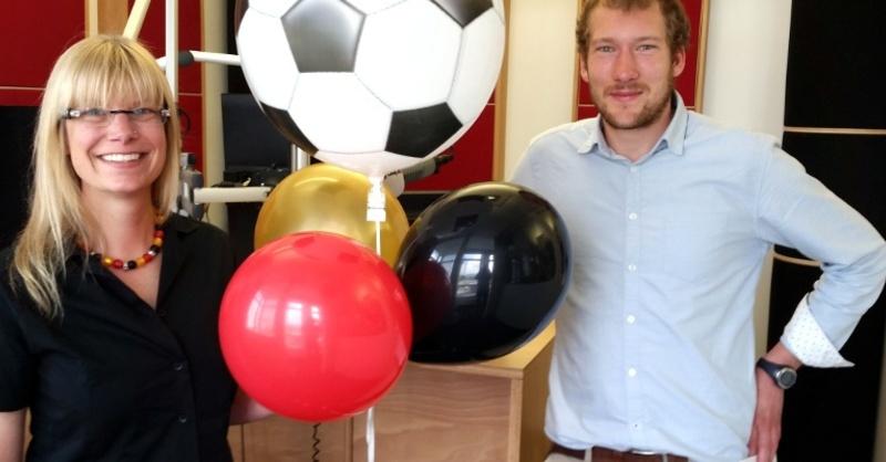 Sonjas Luftballonshop, Weltrekord, Fanmeile, © baden.fm