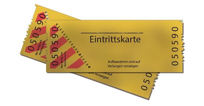 Ticketshop Event Eintrittskarte, © pixabay.com