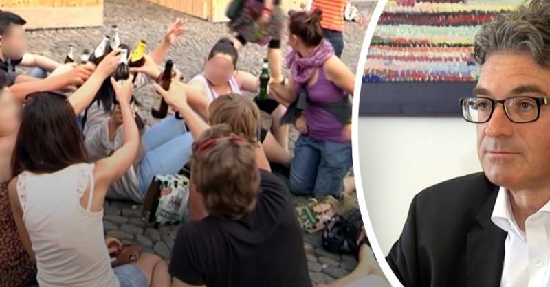 Alkoholverbot, Augustinerplatz, Dieter Salomon, Freiburg, © baden.fm