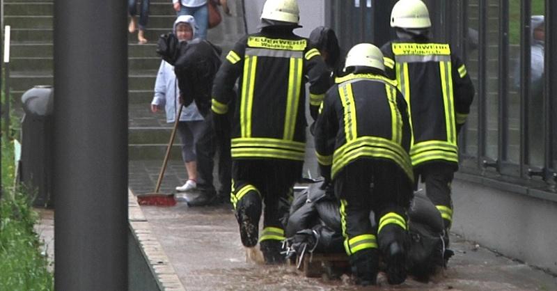 Waldkirch, Feuerwehr, Hochwasser, © baden.fm