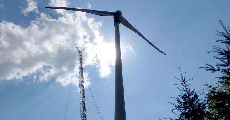 Windkraftwerk, Windkraft, Windrad, © Oekono eG
