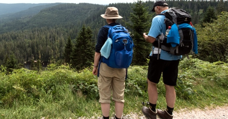 Wandern, Wanderer, Nationalpark Schwarzwald, © Patrick Seeger - dpa